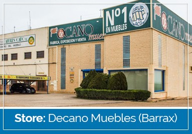 Our Store: Decano Muebles (Barrax)