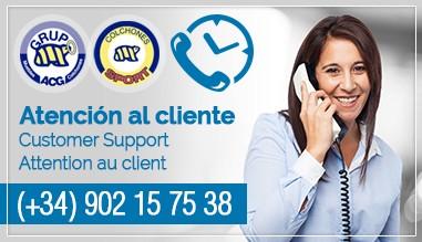 Atención al Cliente - Customer Support - Attention au Client