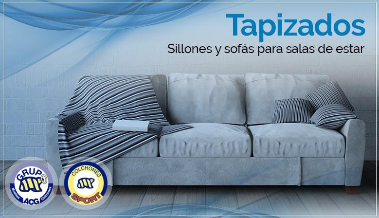 Tapizados - Sillones y sofás para salas de estar
