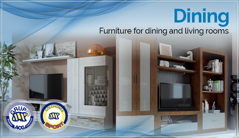 Dining - Furniture for dining and living rooms