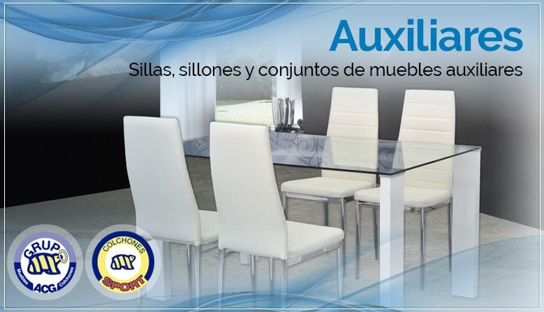 Auxiliares - Sillas, sillones y conjuntos de muebles auxiliares