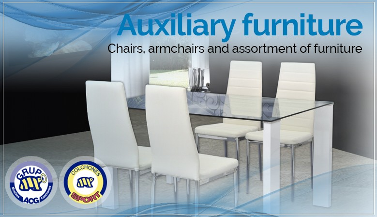 Auxiliary furniture  - Chairs, armchairs and assortment of furniture