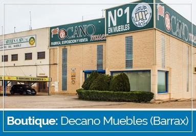 Notre boutique: Decano Muebles (Barrax)