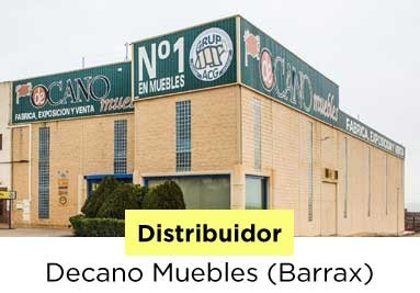 Distribuidor: Decano Muebles (Barrax)